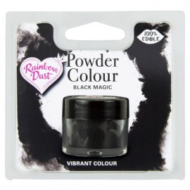 COLORANTE POLVO Rainbow Dust NEGRO BLACK MAGIC