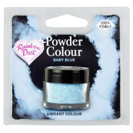 COLORANTE POLVO Rainbow Dust AZUL BABY BLUE