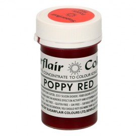COLORANTE Sugarflair ROJO POPPY RED