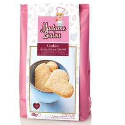 PREPARADO GALLETAS SIN GLUTEN SIN LACTOSA Madame Loulou, COOKIES free gluten