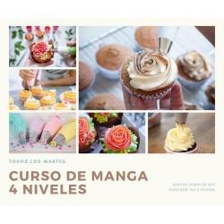 Manga Pastelera CURSO 4 clases - RESERVA