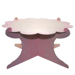 BASE EXPOSITORA de carton para tartas