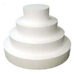 Dummy redondo 4 cm. altura, base redonda poliespan