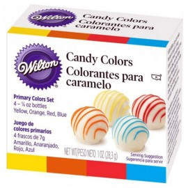COLORANTES Wilton para CHOCOLATE