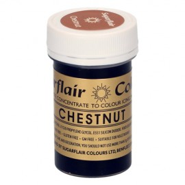 COLORANTE PASTA CHESTNUT Sugarflair