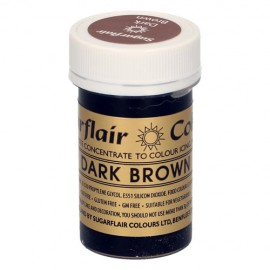 COLORANTE Sugarflair MARRON DARK BROWN