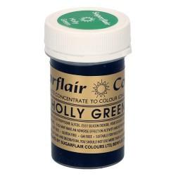 COLORANTE Sugarflair VERDE HOLLY GREEN