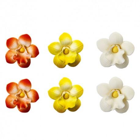 FLORES de AZUCAR, ORQUIDEAS, decoracion floral