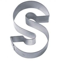 CORTANTE Stadter LETRA S, galletas abecedario