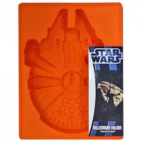 MOLDE SILICONA Star Wars HALCON MILENARIO, molde bizcocho star wars
