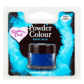COLORANTE POLVO Rainbow Dust AZUL REAL