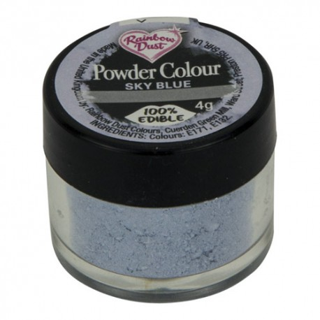 COLORANTE POLVO Rainbow Dust AZUL SKY BLUE