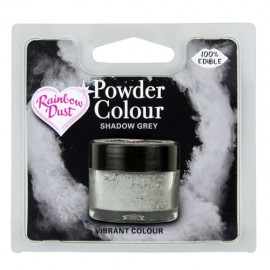 COLORANTE POLVO Rainbow Dust GRIS SHADOW GREY
