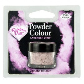 COLORANTE POLVO Rainbow Dust LILA LAVENDER DROP