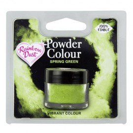 COLORANTE POLVO Rainbow Dust VERDE SPRING GREEN