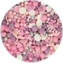 SPRINKLES PRINCESA, decoracion de azucar, confeti comestible, FunCakes