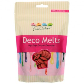 Deco melts FunCakes Rojo 250 g.