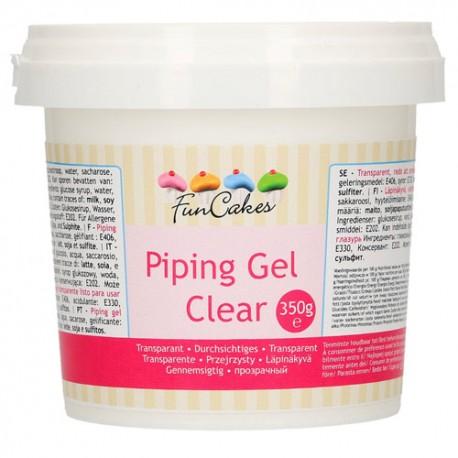 PIPING GEL FunCakes, gel transparente para alimentación