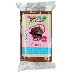 FONDANT FunCakes SABOR CHOCOLATE 250 grs.