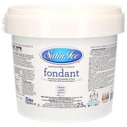 FONDANT BLANCO Satin Ice 2,5 Kg