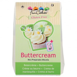 Mezcla para preparar crema de mantequilla sin gluten (Buttercream) FunCakes