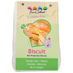 Preparado Sin Gluten Bizcocho 500 g.