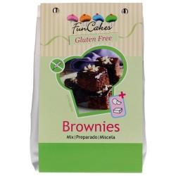 PREPARADO SIN GLUTEN FunCakes BROWNIE 500 grs.