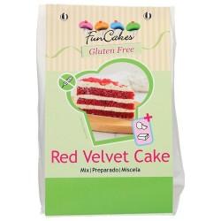 PREPARADO SIN GLUTEN Funcakes RED VELVET 400 grs.