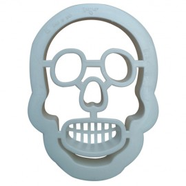 CORTANTE HALLOWEEN CALAVERA, galletas halloween, Decora