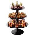 EXPOSITOR Silikomart TARTAS, plato stand tartas cupcakes