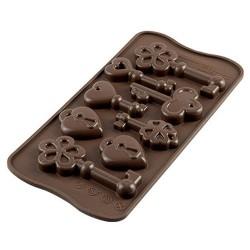 MOLDE SILICONA Silikomart LLAVES, bombones de chocolate