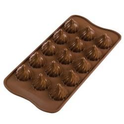 MOLDE SILICONA Silikomart LLAMA, bombones chocolate