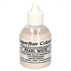 colorante aerografo blanco perlado, sugraflair