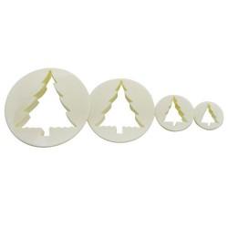 CORTANTES Silicone Gold ARBOL NAVIDAD, galletas navidad
