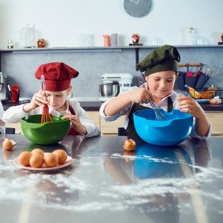 EXTRAESCOLARES Cocina y Repostería para Niños 1 CLASE