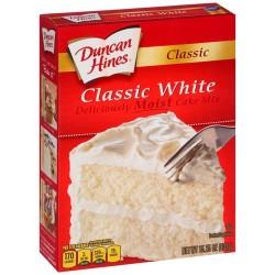 PREPARADO PARA BIZCOCHO CLASSIC WHITE Duncan Hines