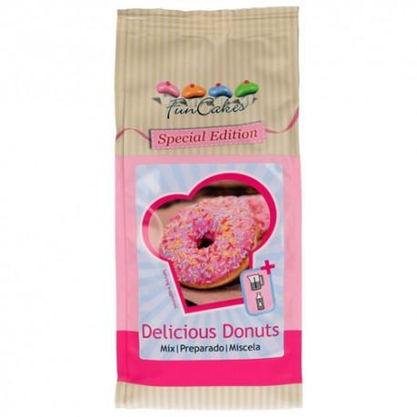 PREPARADO FunCakes DONUTS, mezcla para donuts, donuts decorados