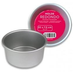 MOLDE REDONDO 20x7,5 cm.