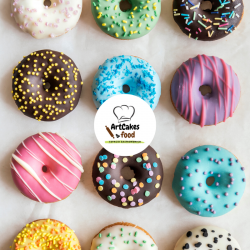 Donuts glaseados x 12