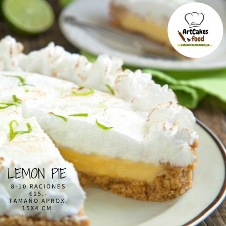 Tarta Lemon Pie 8 raciones