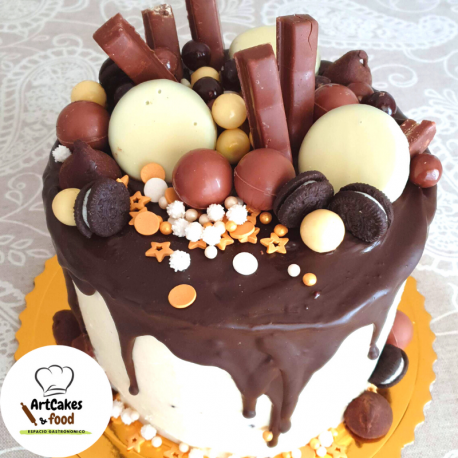 TARTA Drip Cake 10 raciones