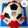 Tarta balón Atlético ArtCakes