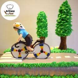 Tarta Ciclista