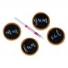 ROTULADOR tinta comestible FunCakes BLANCO, galletas pintadas fondant