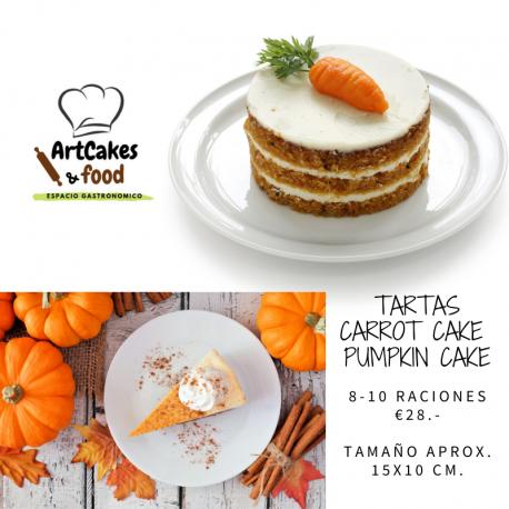 Carrot cake o Pumpkin cake ArtCakes