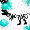 BANDERIN DINOSAURIOS DINOPARTY, guirnalda fiestas de cumpleaños, fiestas tematicas