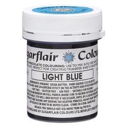 COLORANTE para CHOCOLATE Sugarflair AZUL CLARO, colorante liposoluble