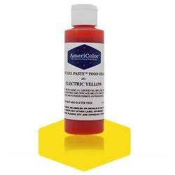 Colorante gel pasta amarillo electrico, electric yellow Americolor