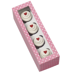 Caja Mini cupcakes Wilton, caja san valentin magdalenas
