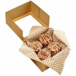 Hojas de papel para envolver galletas y dulces, envoltorios dulces, Wilton